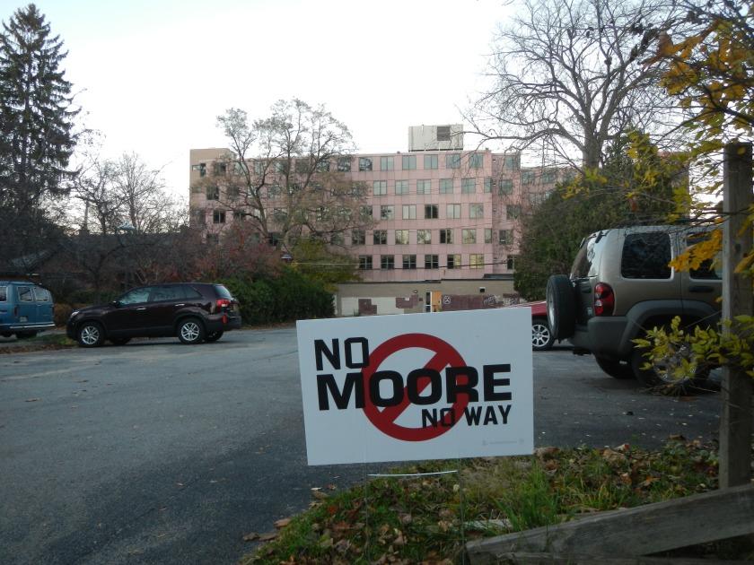 No Moore Hall