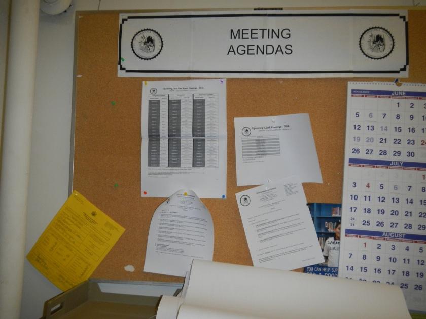 Planning Bulletin Board